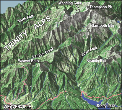 Awesome Trinity Alps Map Galleries - Printable Map - New ...